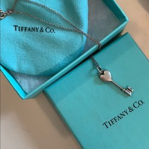 Tiffany & co necklace with diamond